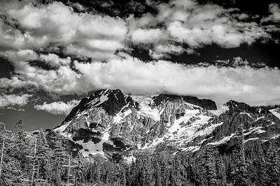 Mount Shuksan Under Clouds Poster