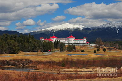Mount Washington Grand Hotel Poster by Catherine Reusch  Daley