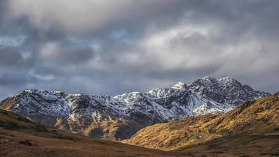 Mountain Approach Poster by Chris Fletcher
