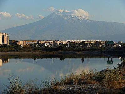 Mountain Ararat In Armenia Poster by Eye Contact