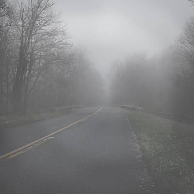 Mountain Fog Poster by Joseph G Holland