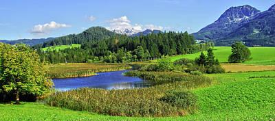 Mountain Lake Austria Poster