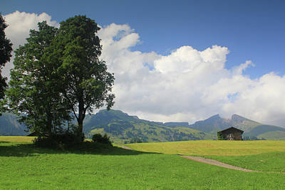 Mountain Landscape Switzerland Poster