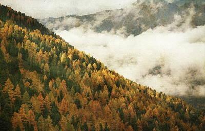 Mountain Landscape Poster by Vittorio Chiampan