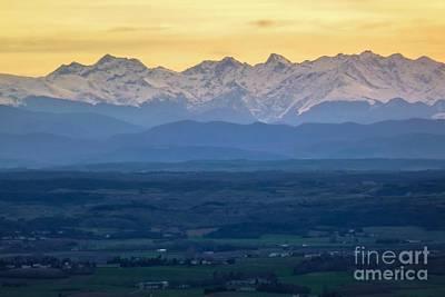 Mountain Scenery 15 Poster by Jean Bernard Roussilhe
