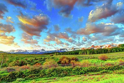 Mountain Skies Poster