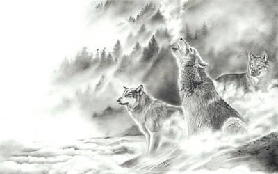 Mountain Spirits Poster
