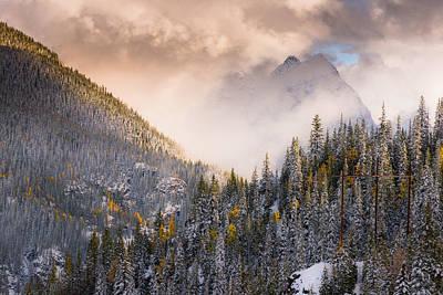 Mountains Light Poster