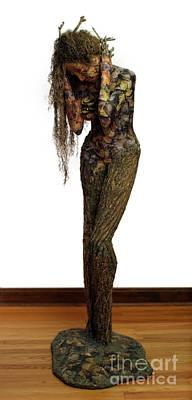 Mourning Moss A Sculpture By Adam Long Poster by Adam Long