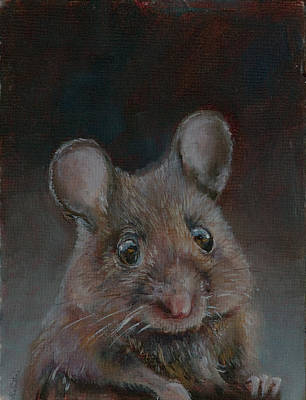 Mousekawitz Fine Art Print Poster by Kim Guthrie