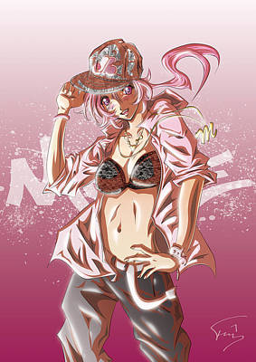 Move B-girl Poster by Tuan HollaBack