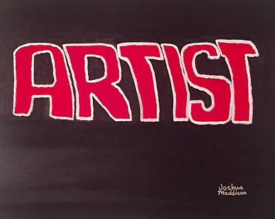 Movie Artist09's Movie Poster by Joshua Maddison
