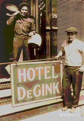 Moving Hotel Degink Poster