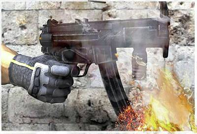 MP5 Poster by Bob Cook