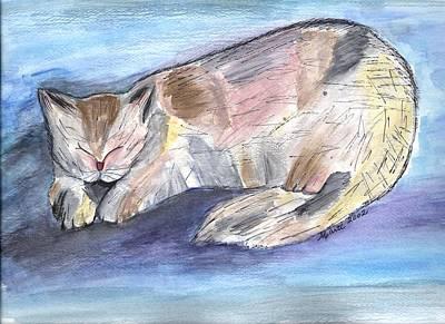 Mprints - Rainbow Cat Poster