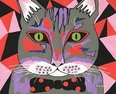 Mr Cat - Cute Animals Poster