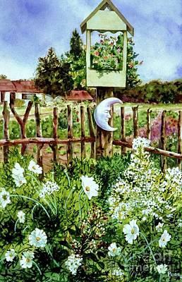 Mr Moon's Garden Poster