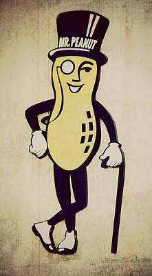 Mr Peanut Poster
