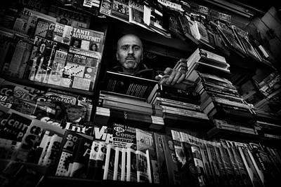 Mr. Valentino Poster by Antonio Grambone