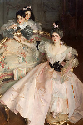 Mrs Carl Meyer And Her Children Poster by John Singer Sargent