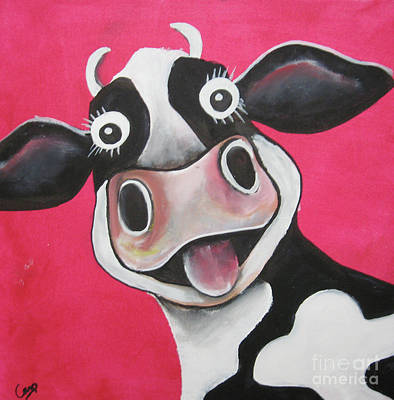 Mrs Cow Poster
