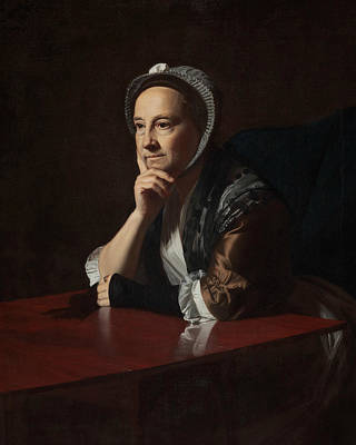 Mrs Humphrey Devereux Poster by John Singleton Copley