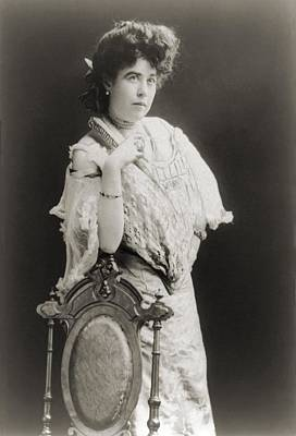 Mrs. James J. Molly Brown 1867-1932 Poster by Everett
