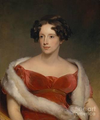Mrs. John Biddle - Eliza Falconer Bradish Poster