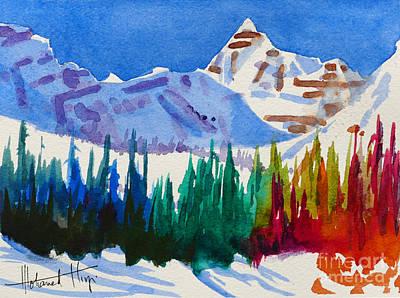 Mt. Athabasca, Jasper Poster by Mohamed Hirji