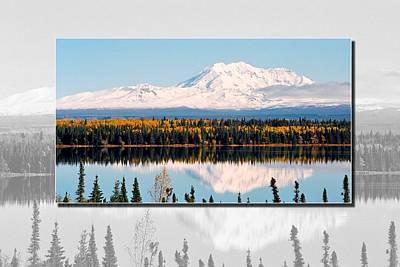 Poster featuring the photograph Mt. Drum - Alaska by Juergen Weiss