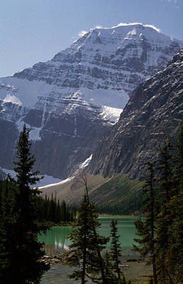 Mt Edith Cavell Poster