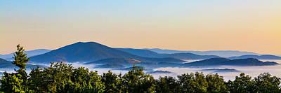 Mt. Jefferson Cloud Lake Poster