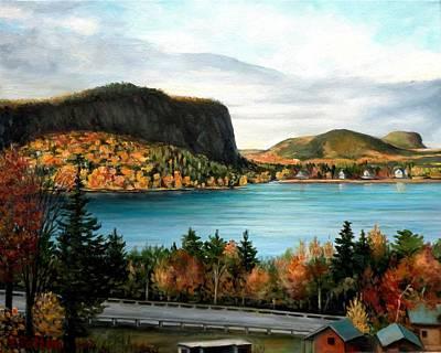 Mt. Kineo, Rockwood, Maine Poster