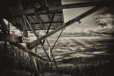 Mt Lolo Hang Gliding Ramp Poster