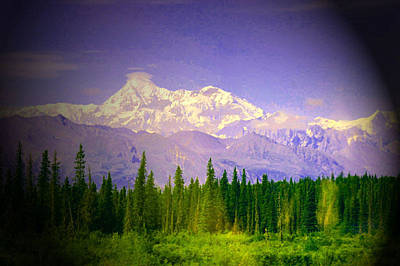 Poster featuring the photograph Mt Mckinley Ambiance by Jack G  Brauer