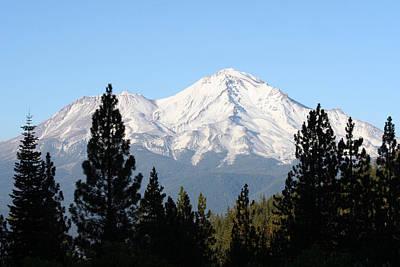 Mt. Shasta - Her Majesty Poster