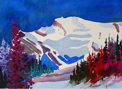 Mt. Wilson Poster by Mohamed Hirji