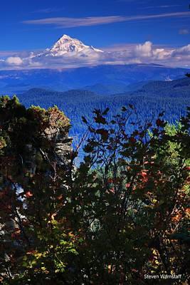 Mt.hood N Fall Poster