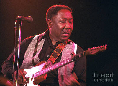 Muddy Waters 1978 Poster by Chris Walter