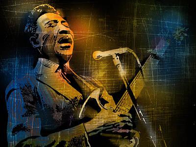 Muddy Waters Poster by Paul Sachtleben