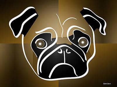 Mug Of A Pug Poster