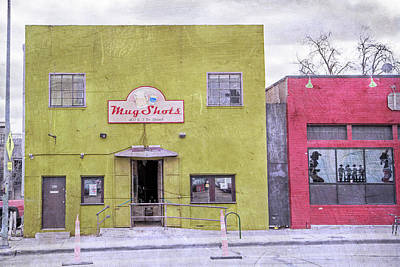 Mug Shots Austin Texas Poster by Betsy Knapp