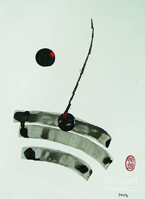 Poster featuring the painting Muga No Genri by Roberto Prusso