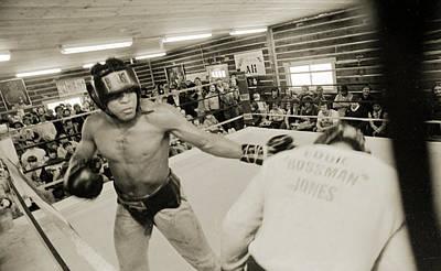 Muhammad Ali Spars With Ernie Jones Poster
