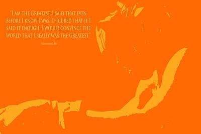Muhammad Ali The Greatest II Poster