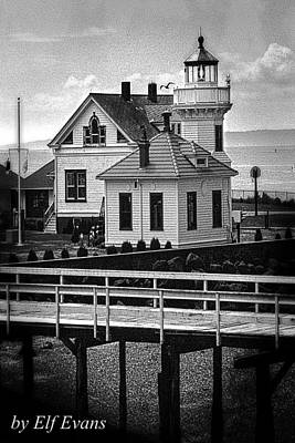 Poster featuring the photograph Mukilteo Lighthouse by Elf Evans