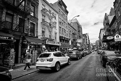 mulberry street little italy New York City USA Poster