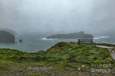 Poster featuring the photograph Mullion Cove by Brian Roscorla