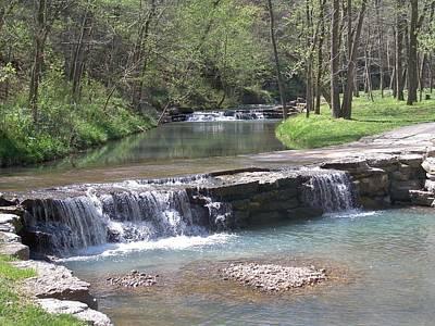 Multiple Waterfalls Poster