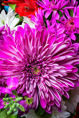 Mum Bouquet Poster by Garry Gay